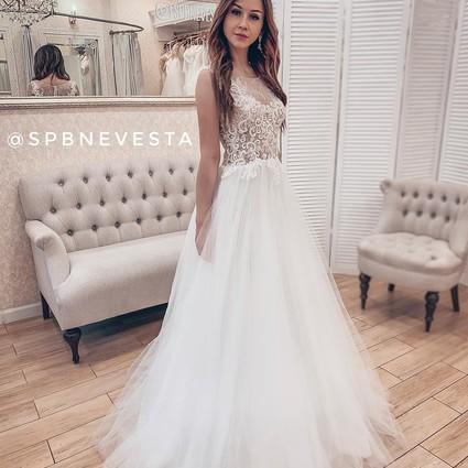 7f9fe4353e4 Цена  28900 руб. Свадебное платье Лукия