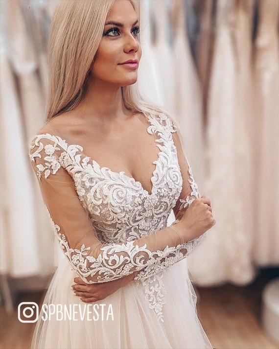 Свадебное платье Леона