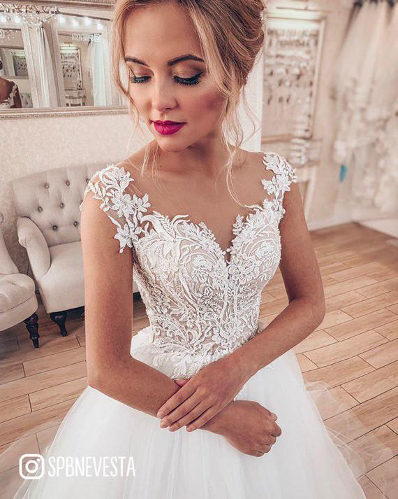 Свадебное платье Одетта