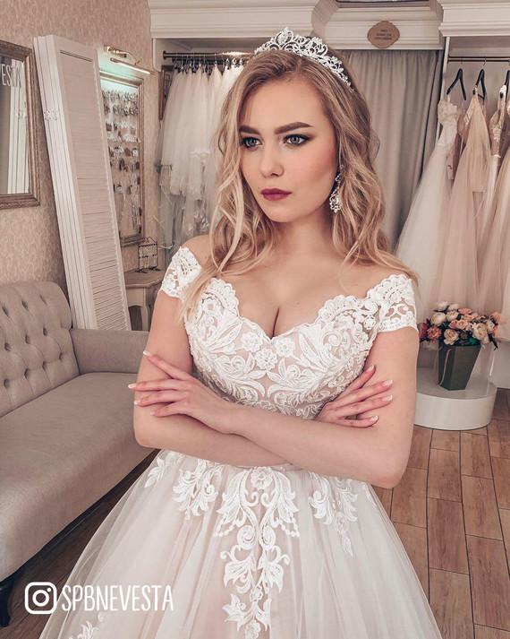 Свадебное платье Магда-шайн