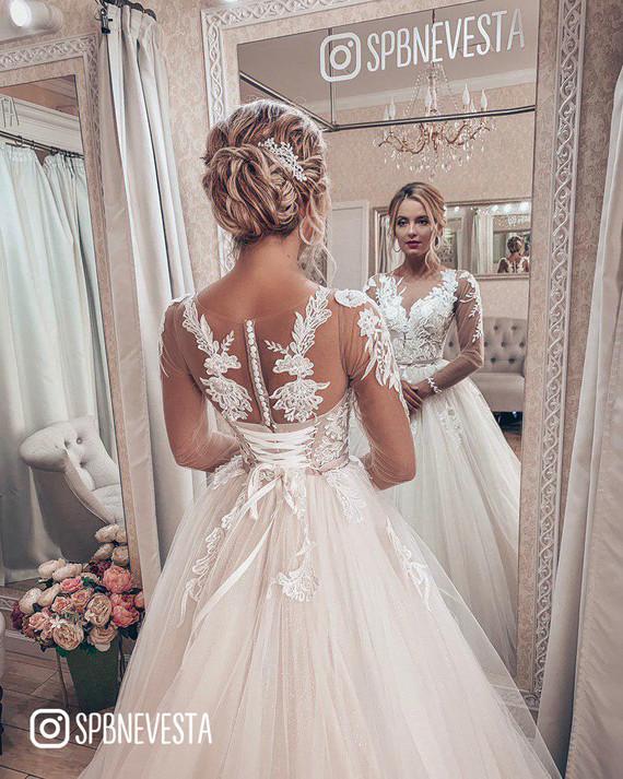 Свадебное платье Ганна