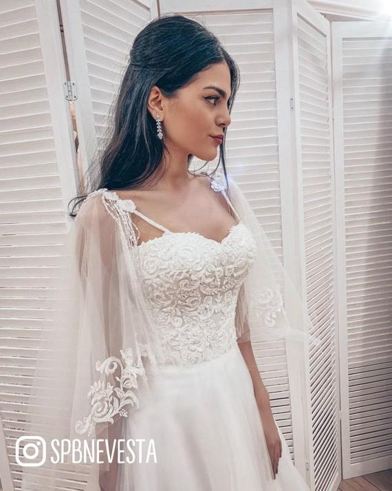 Свадебное платье Агнесса купить по цене 24900 руб. в Санкт-Петербурге, свадебный салон PRESTIGE