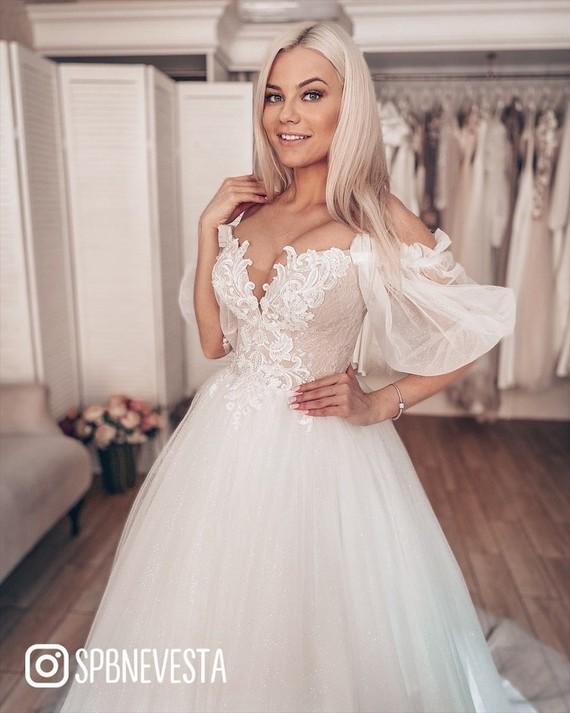 Свадебное платье Октябрина