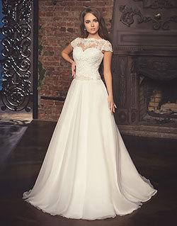 baf59a53d3e А-силуэтное свадебное платье или А-линия. Свадебные платья А-силуэта  получили своё название потому