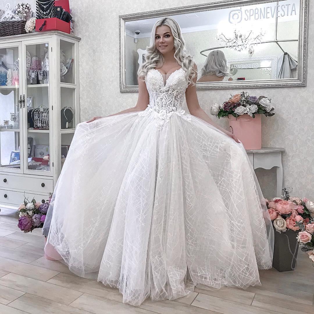 Свадебное платье для настоящей принцессы